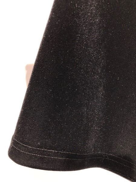 Posey Velvet Trousers - Black