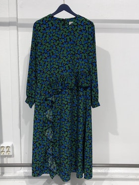 Garden Long Dress - Green
