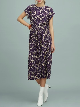 Mila Long Dress - Purple