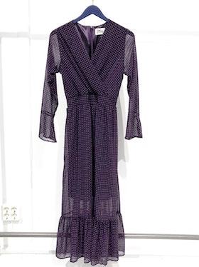 Adelaide Long Dress - Purple