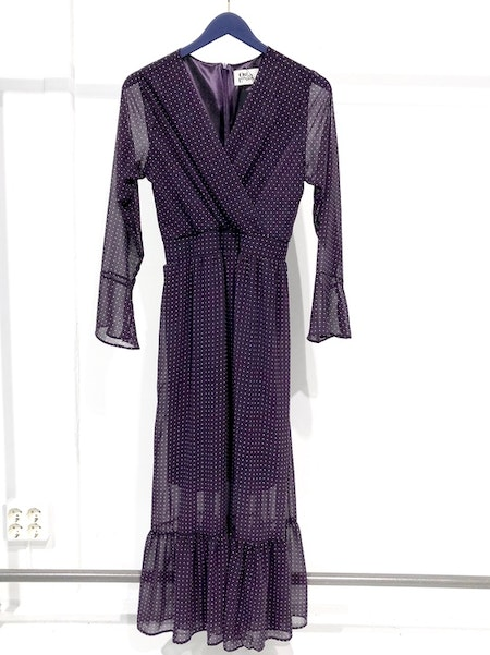 Adelaide Long Dress - Purple