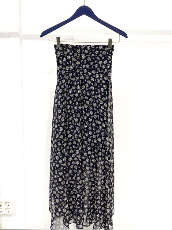 Gail Long Skirt - Navy