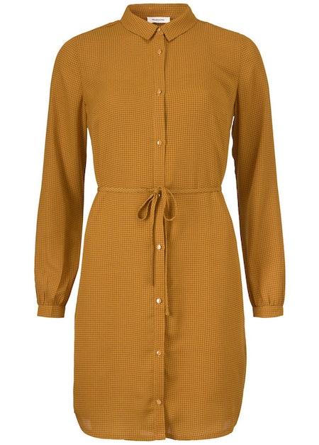 Siva Print Dress - Yellow