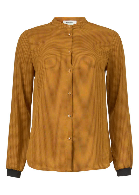 Siva Print Shirt - Yellow