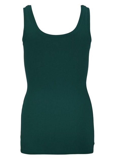 Tulla Tank Top - Bottle Green