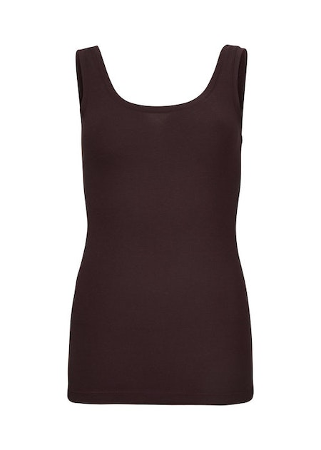 Tulla Tank Top - Dark Ruby
