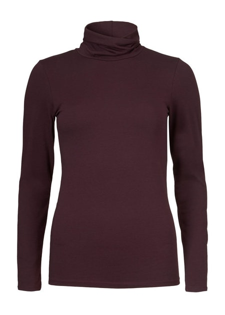 Tanner High Neck - Dark Ruby