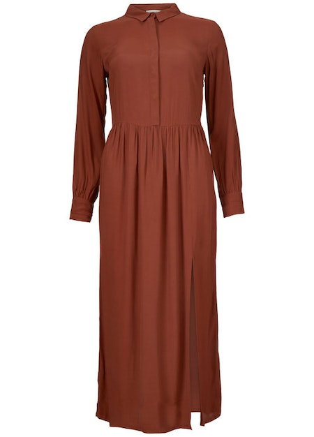 Solero Dress - Brandy Brown