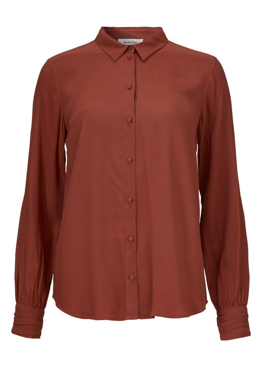 Solero Shirt - Brandy Brown