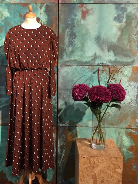 Choco Maxi Dress - Brown
