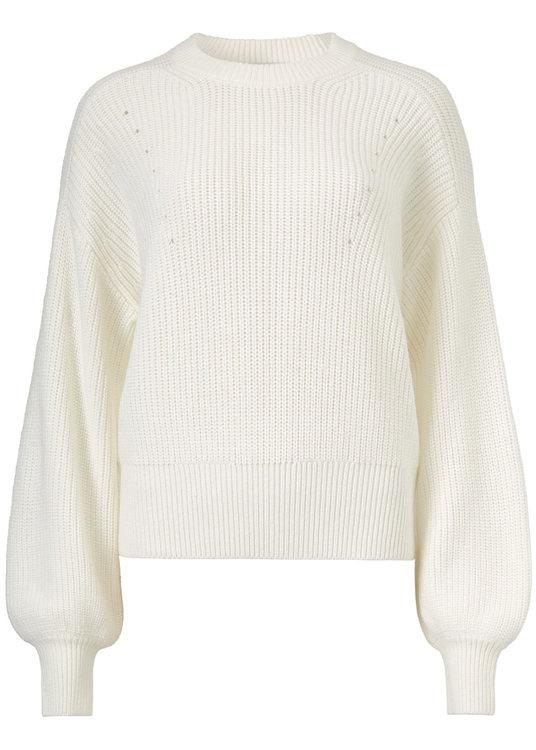 Sidney O-neck - Off white