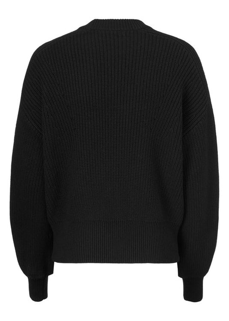 Sidney O-neck -  Black