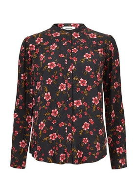 Siesta Print Shirt - Fall Flower