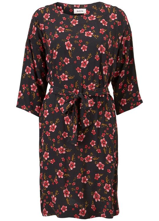 Siesta Print Dress - Fall Flower
