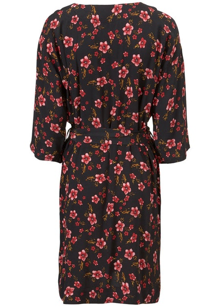 Siesta Print Dress - Fall Flower