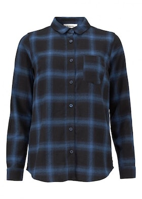 Tempt Shirt - Navy Check