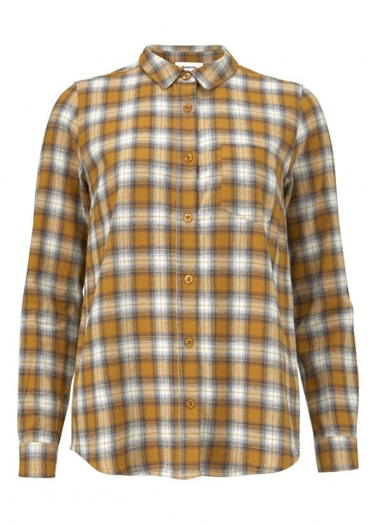 Tempt Shirt - Camel Check