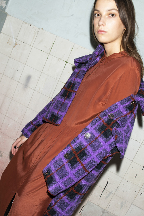 Solero Dress - Brandy Brown