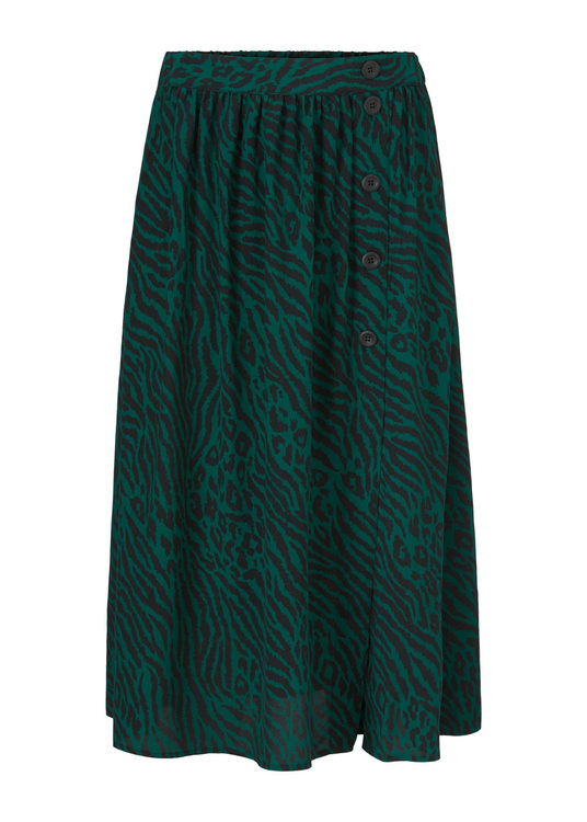 Vivaldi Print Skirt - Wild Animal Gemstone