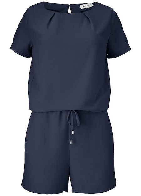 Campell Playsuit - Navy Sky