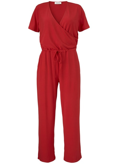 Osaka Jumpsuit - Racing Red