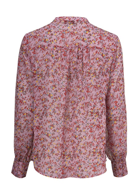 Vogue Print Shirt - Winter Bloom