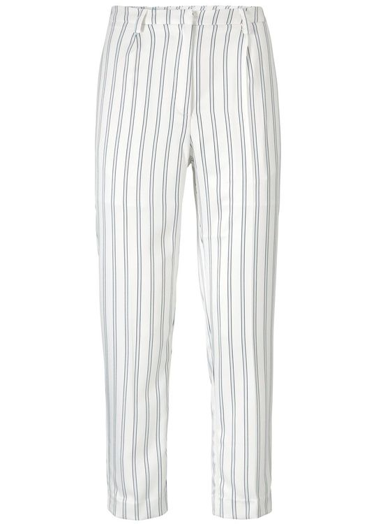 Natasha Print Pants - Narrow Stripe