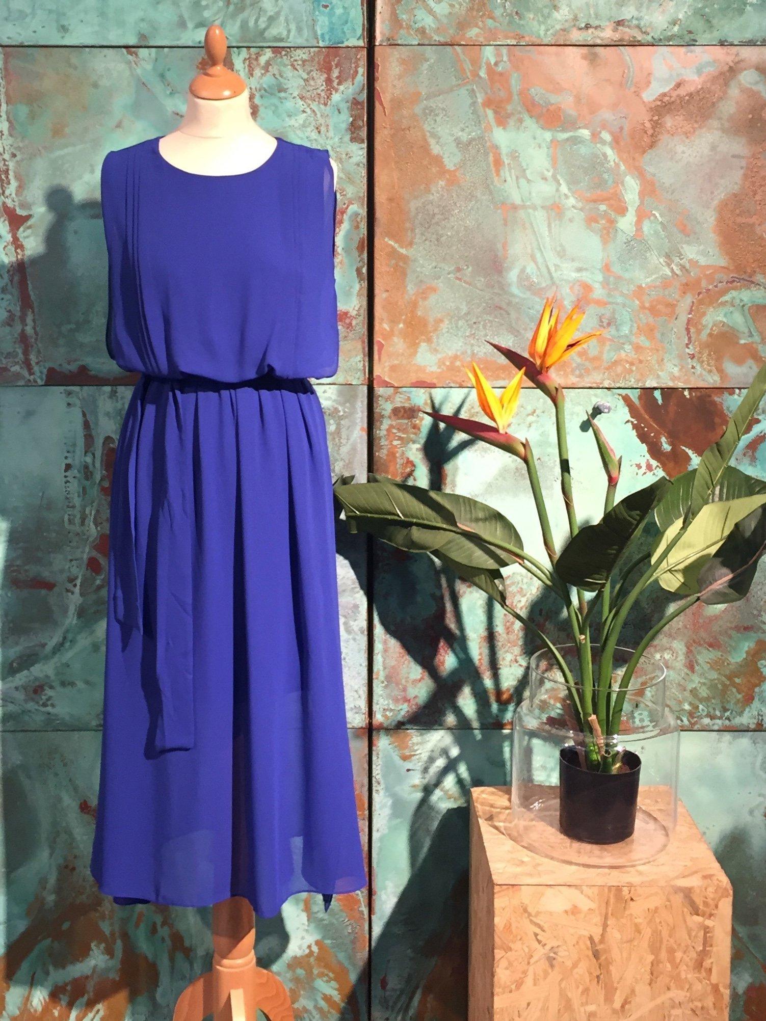 Kate Long Dress - Blue
