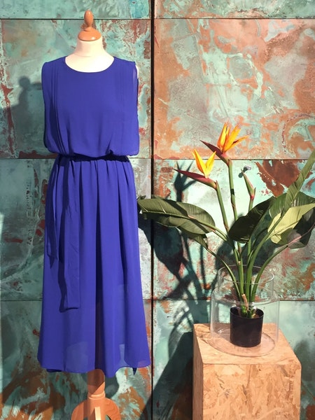 Kate Long Dress - Blue