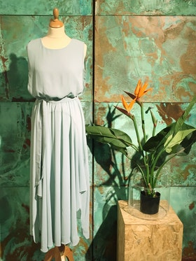 Sofia Long Dress - Mint