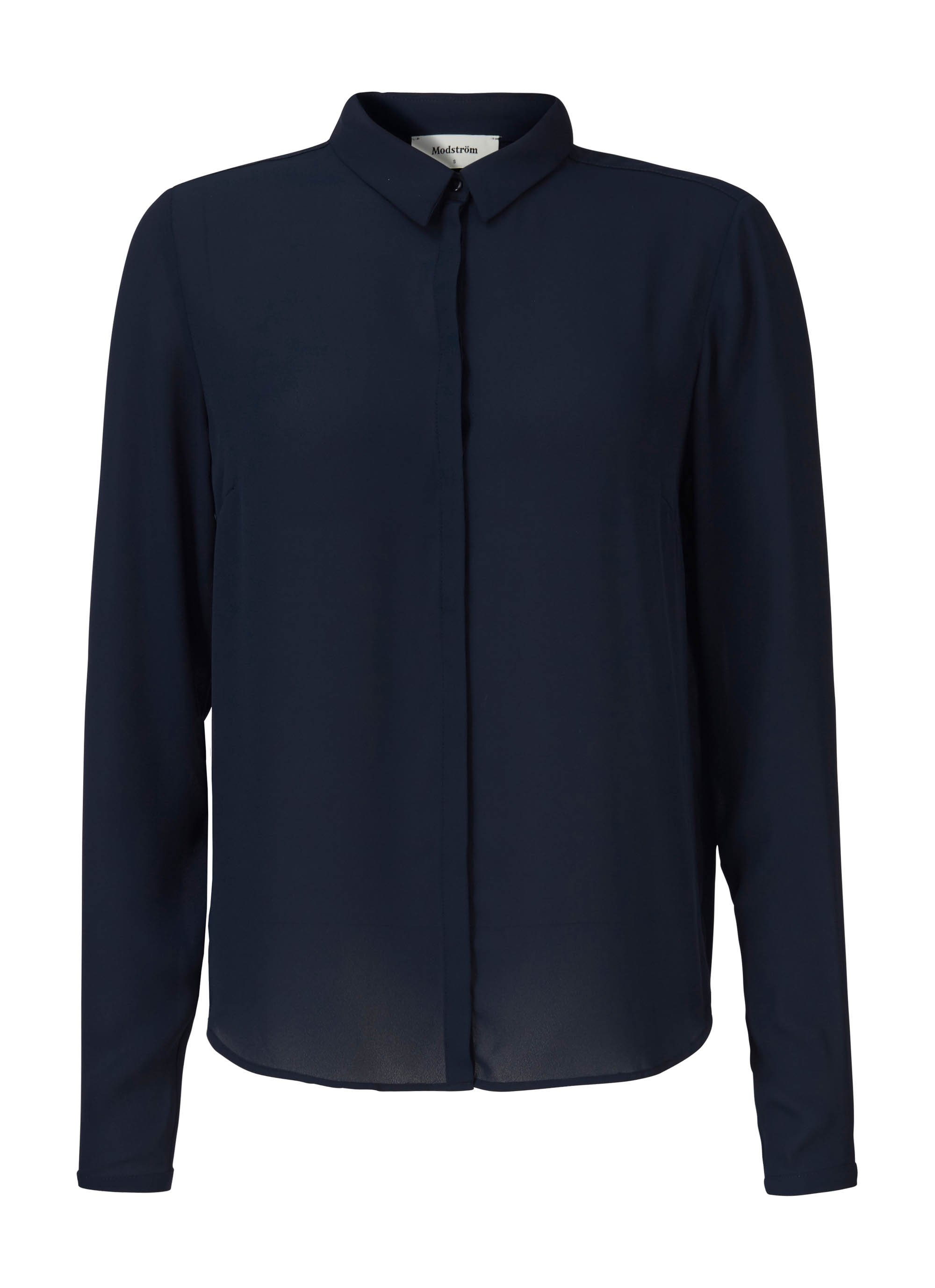 Cyler Collar Shirt - Navy Night