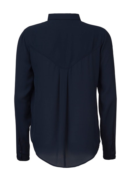 Cyler Collar Shirt - Navy Night