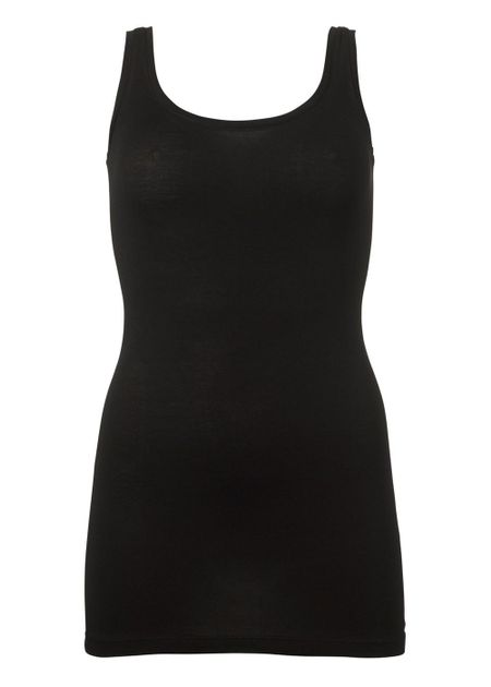 Tulla Tank Top - Black