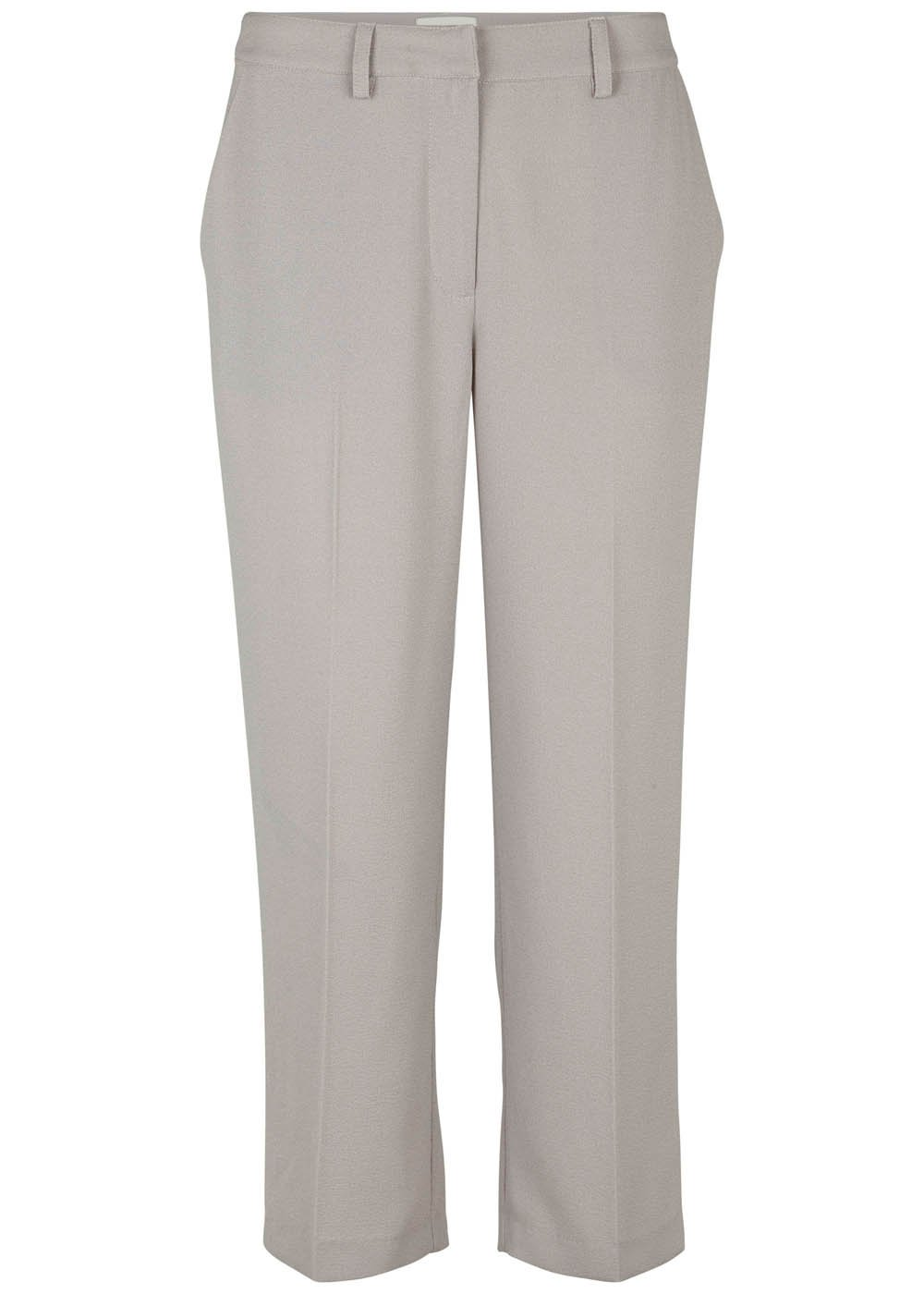 Fellow Cropped Pants - Light Grey