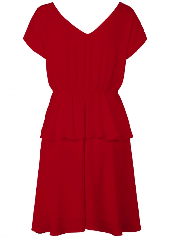 Field Dress - Apple Red