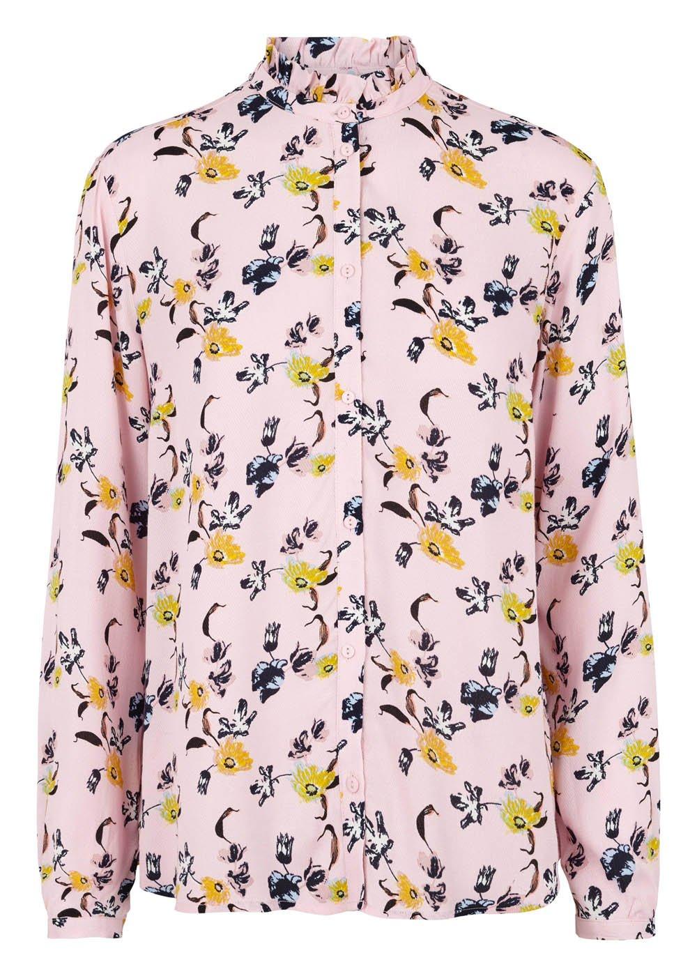 Fardosa Print Shirt - Pale Floral