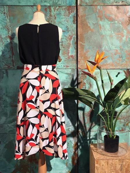 Cadi Flare Skirt - Red