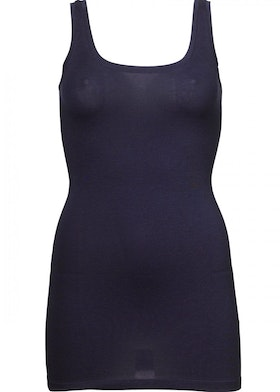 Tulla Tank Top - Navy Noir
