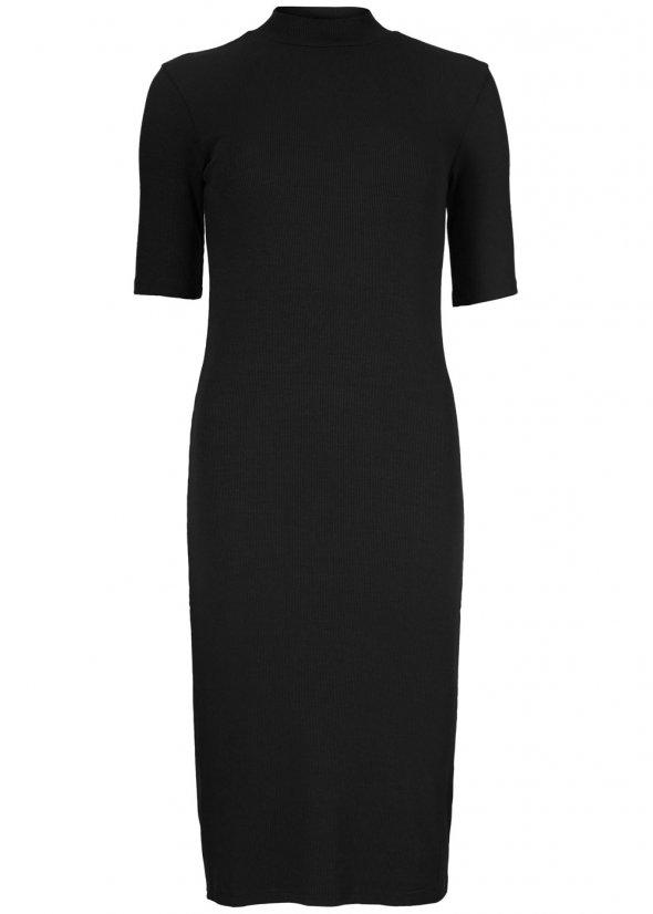 Krown T-Shirt Dress - Black
