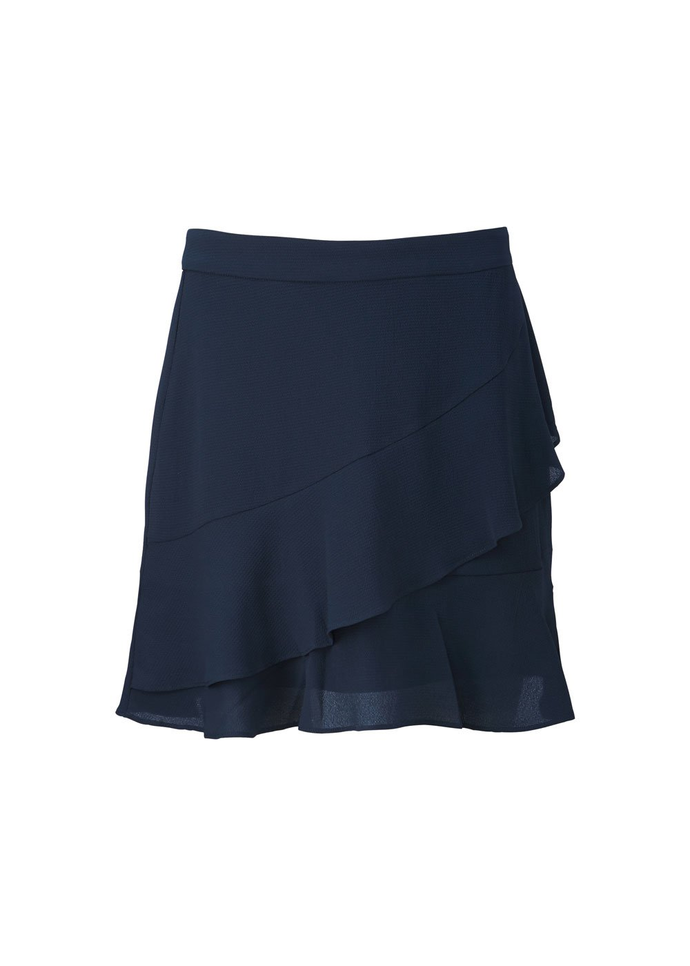 Gallery Skirt - Navy Sky