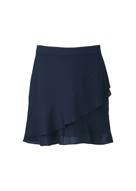 Gallery Skirt - Navy Sky