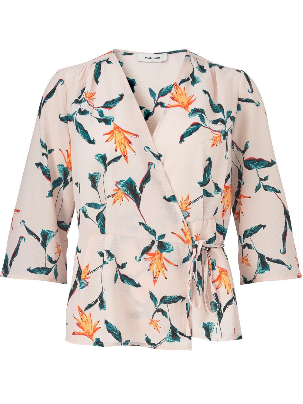 Genesis Print Top - Rose Tropical