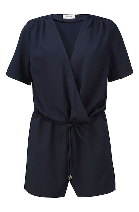 Seth Playsuit - Navy Sky