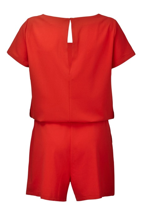 Campell Playsuit - Apple Red