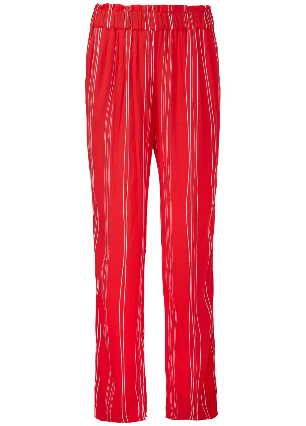 Grazie Print Pant - Red Stripe