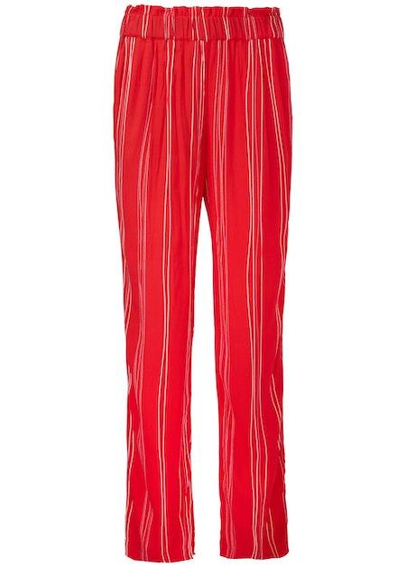 Grazie Print Pant - Red Stripe