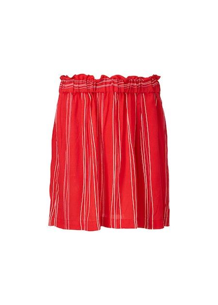 Grazie Print Skirt - Red Stripe