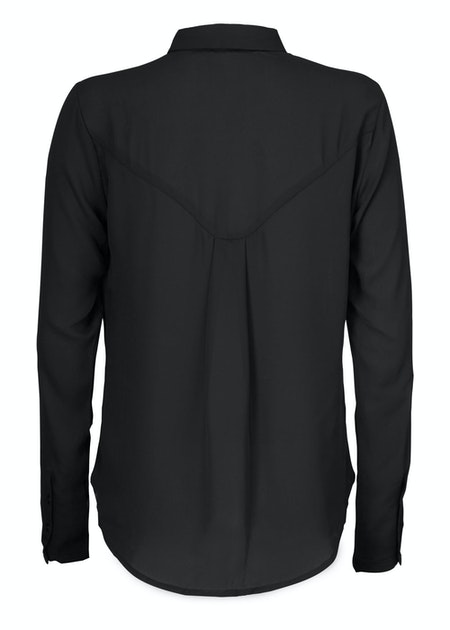 Cyler Collar Shirt - Black