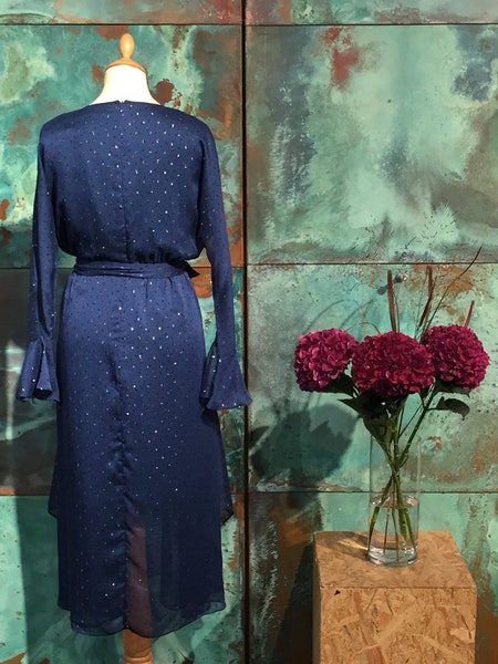 Cann Long Dress - Blue