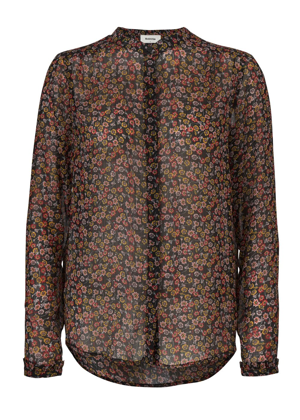 Jasper Print Shirt - Scatter Flower
